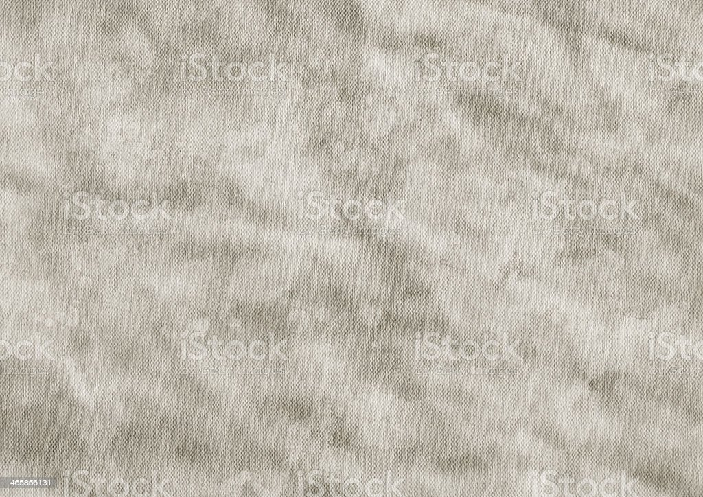 Artist's Acrylic Primed Cotton Canvas Crumpled Grunge Texture royalty-free stock photo