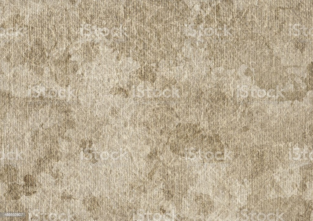 Artist's Acrylic Primed Linen Canvas Mottled Grunge Texture royalty-free stock photo