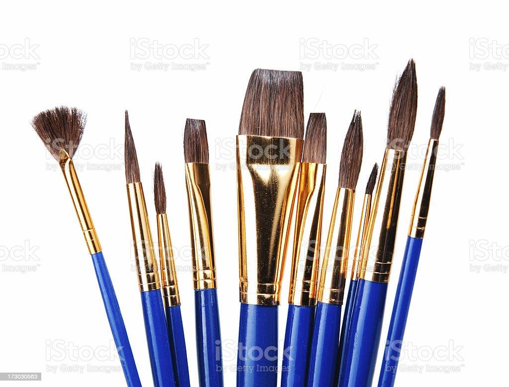 Artist's Brush royalty-free stock photo