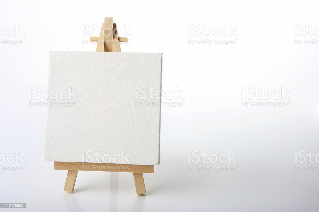 Artists canvas royalty-free stock photo