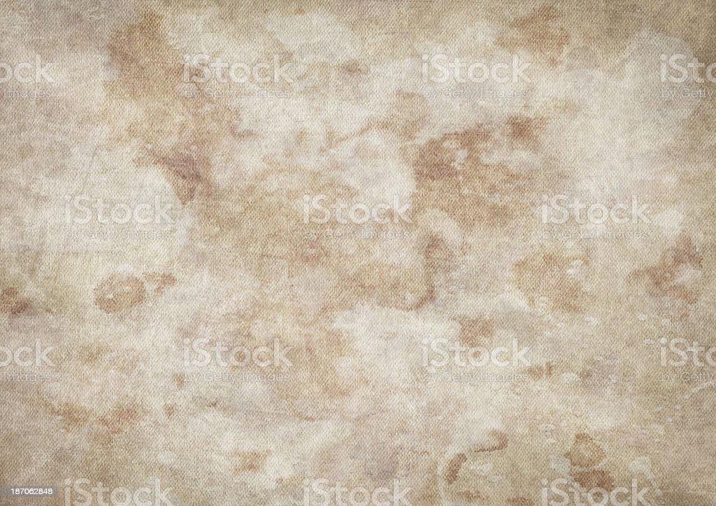 Artist's Cotton Duck Mottled Canvas Vignette Grunge Texture royalty-free stock photo