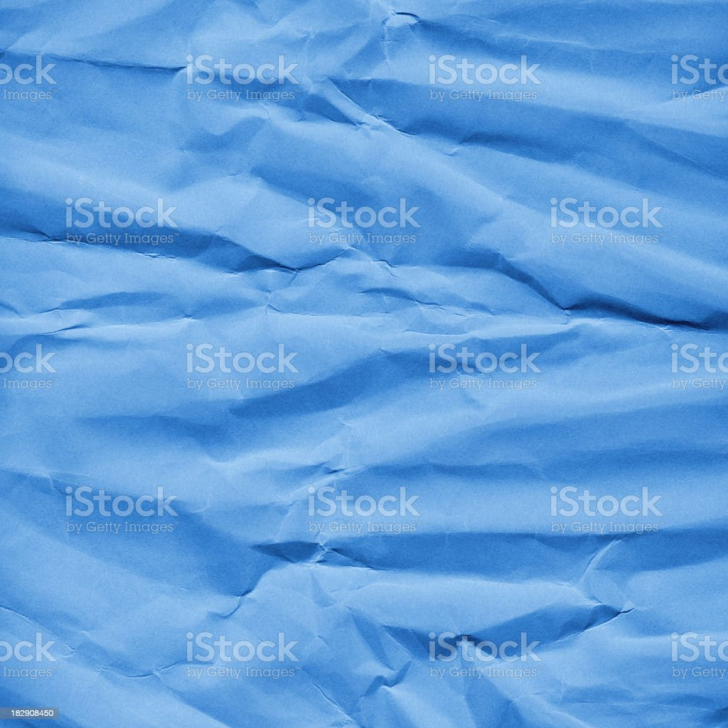 Artist's Hi-Res Lightsky Blue Card-stock Watercolor Paper Crushed Grunge Texture royalty-free stock photo