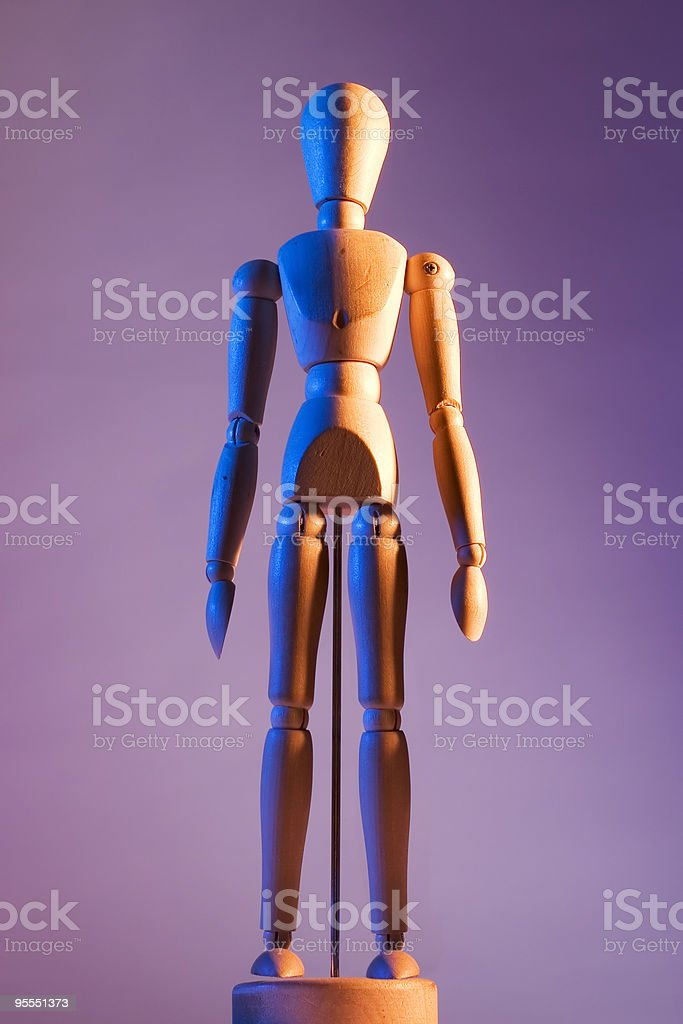 Artist's mannequin royalty-free stock photo