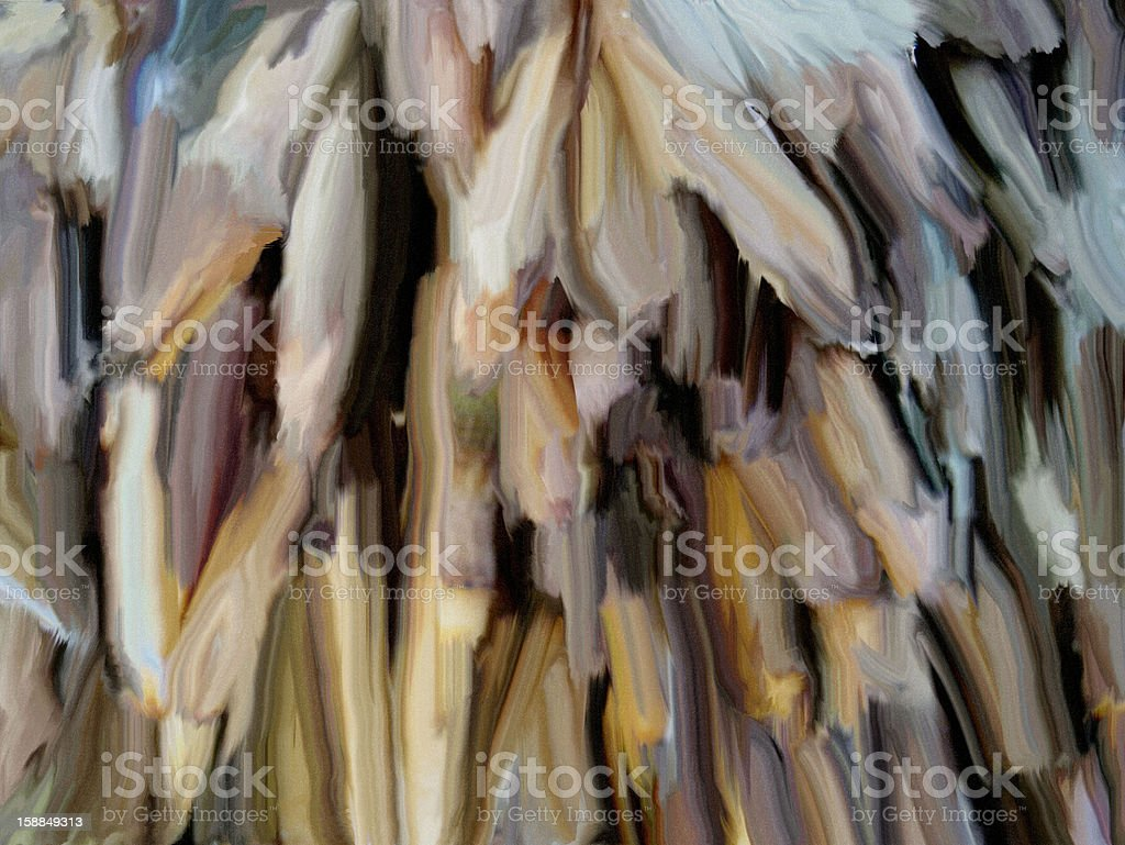 Artists oil painting royalty-free stock photo