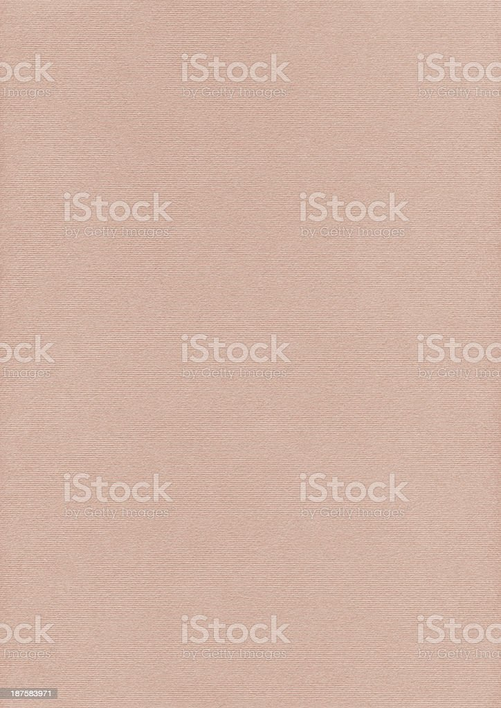 Artist's Pale Peach Pastel Paper Coarse Grain Texture royalty-free stock photo