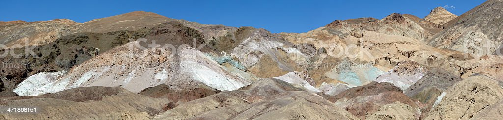 Artists Palette, Death Valley, California royalty-free stock photo