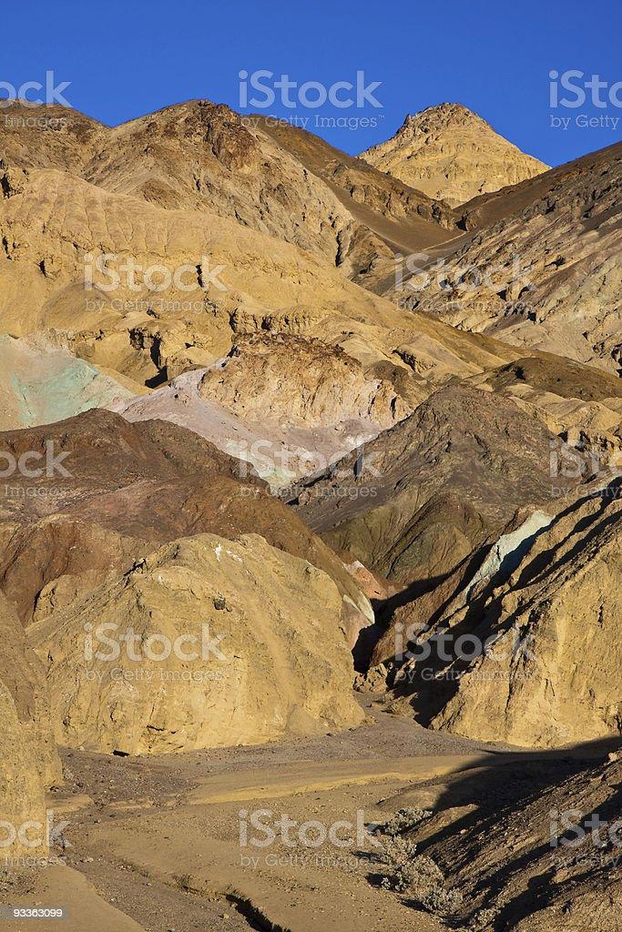Artist's Palette Landscape royalty-free stock photo