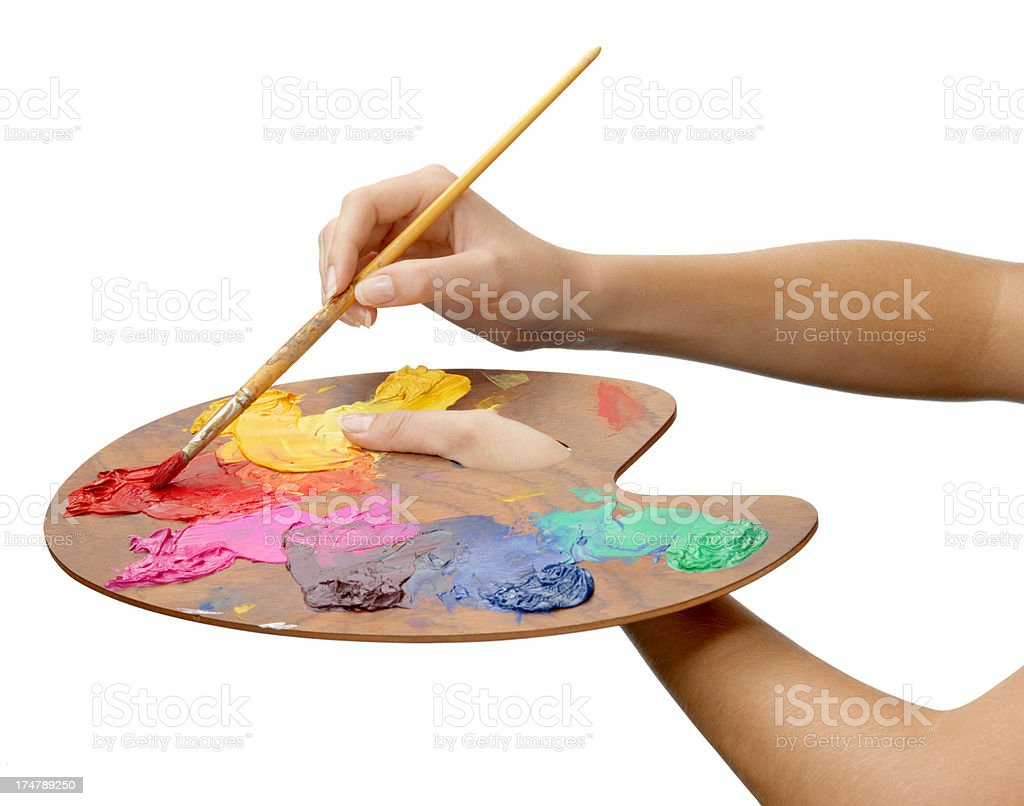 Artist's Palette stock photo