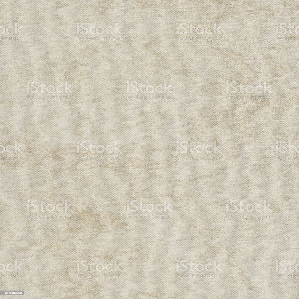 Artist's Primed Cotton Duck Canvas Mottled Grunge Texture royalty-free stock photo