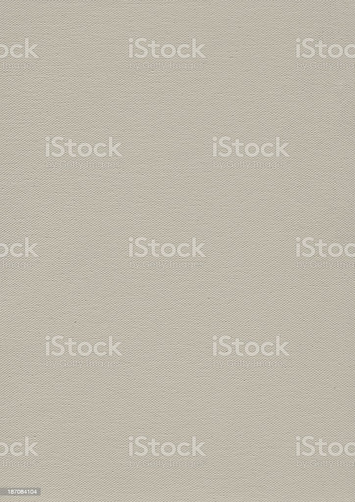 Artist's Primed Cotton Duck Canvas Texture royalty-free stock photo