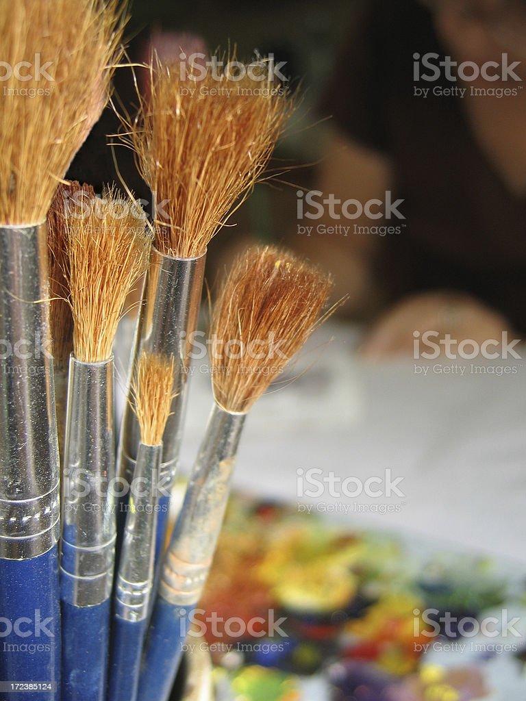 Artist's studio Lizenzfreies stock-foto