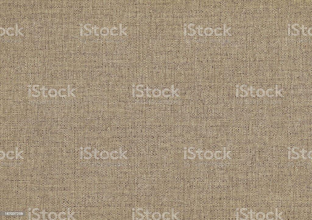 Artist's Unprimed Linen Canvas Coarse Grunge Texture stock photo