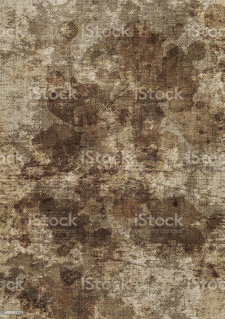 Artist's Unprimed Linen Canvas Mottled Grunge Texture stock photo