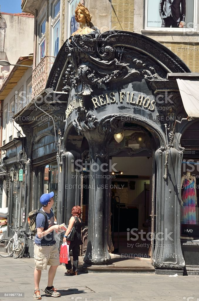 Art-Nouveau style  shop stock photo