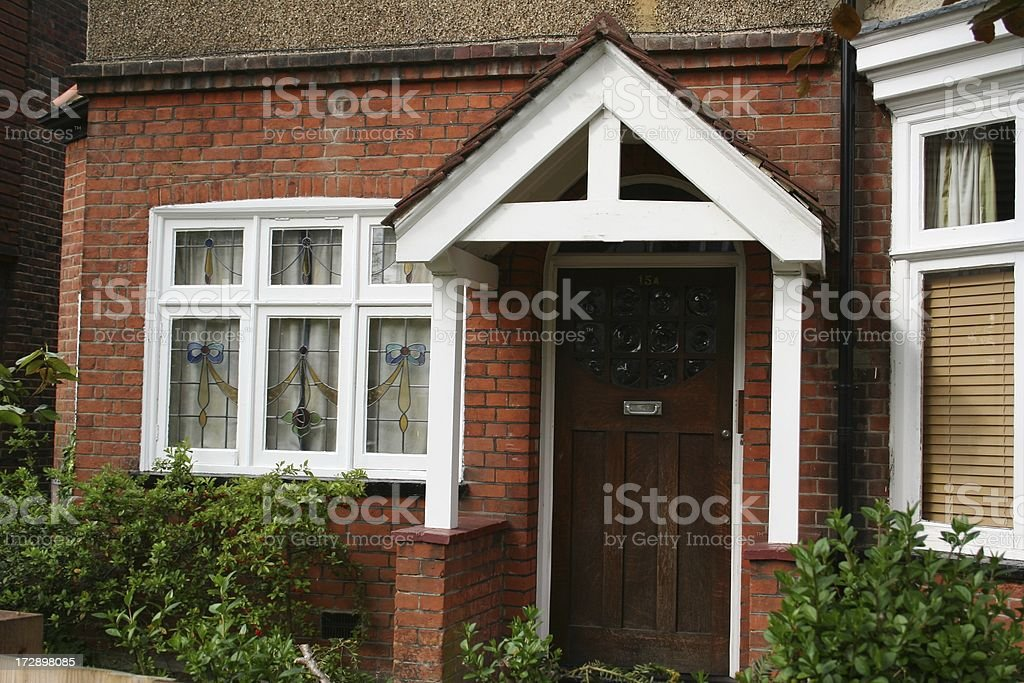 Arts and crafts house London England royalty-free stock photo