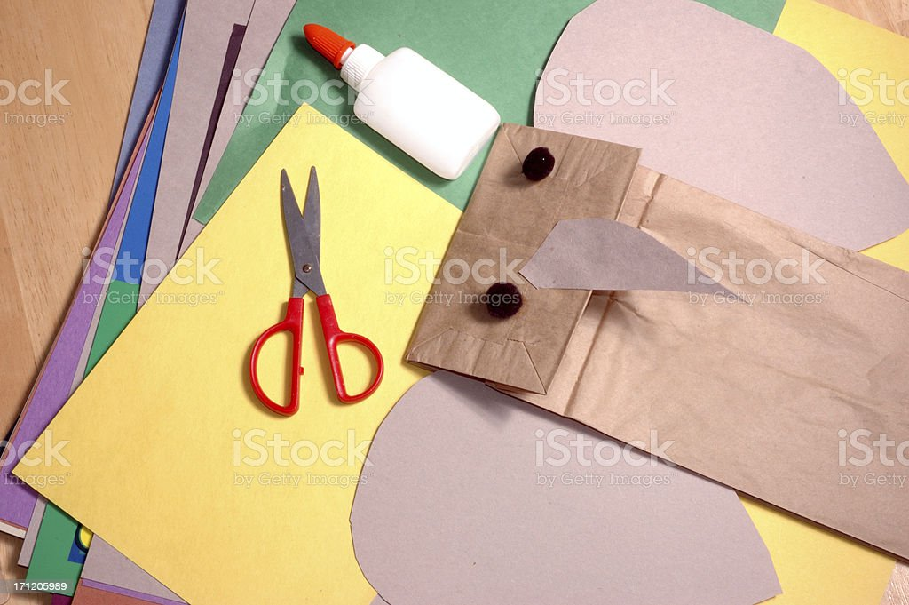 Arts and crafts royalty-free stock photo