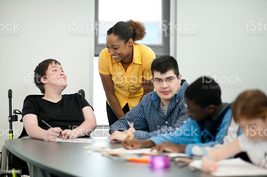 Arts and Crafts stock photo