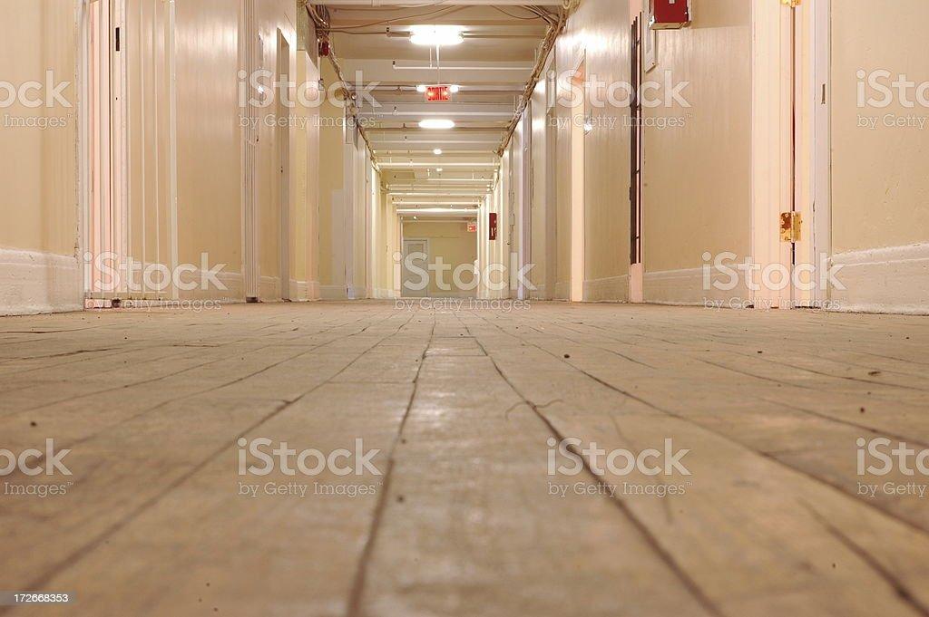 Artsy Hallway stock photo