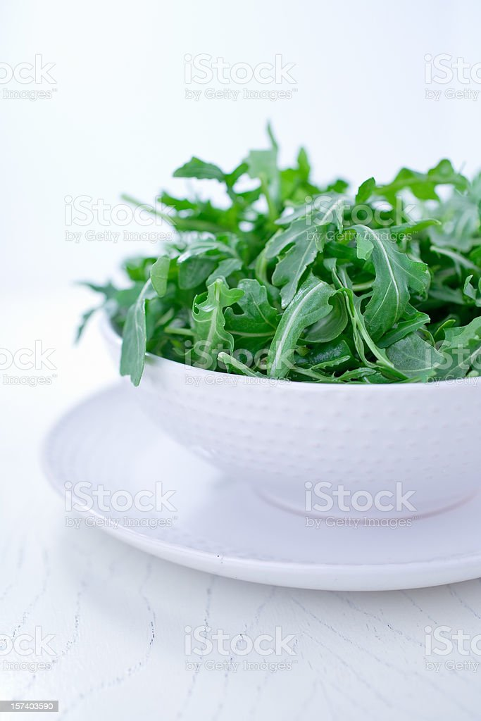 Arugula Salad royalty-free stock photo