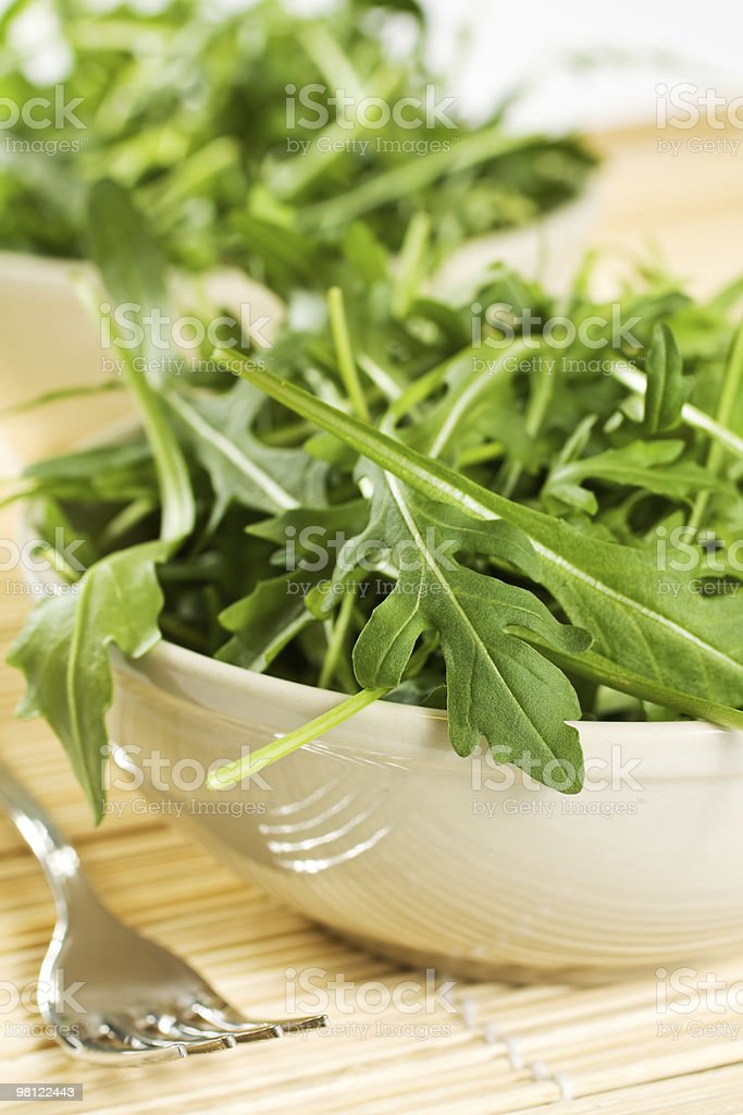 Rucola salad royalty-free stock photo