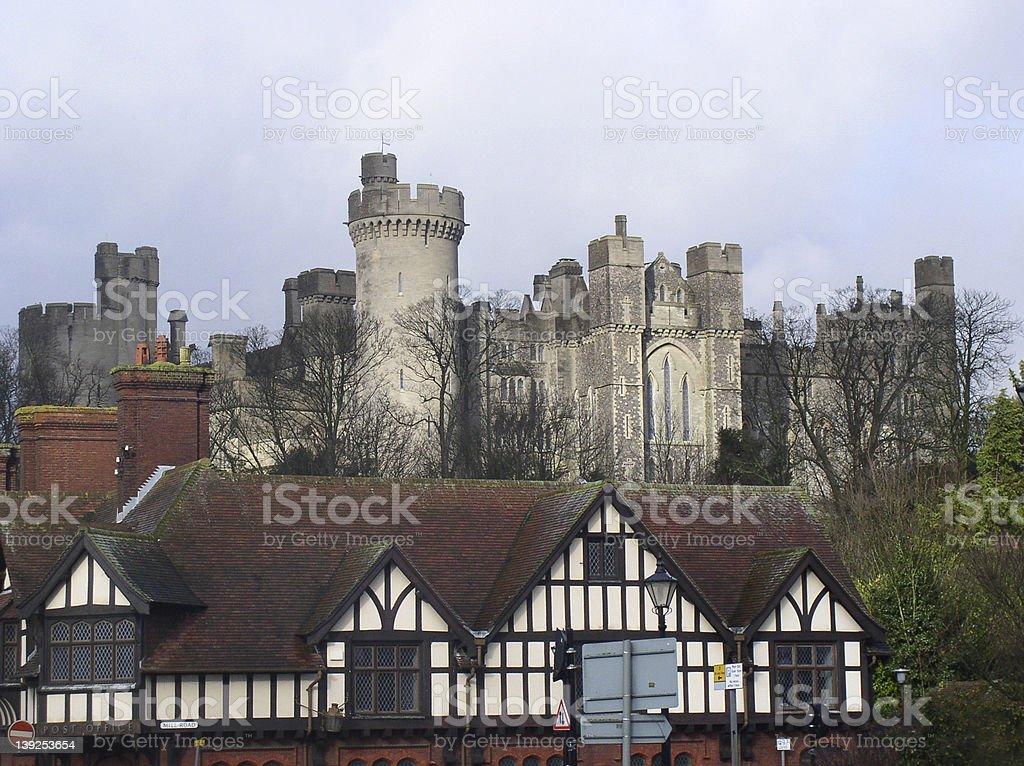 Arundel castle, England royalty-free stock photo