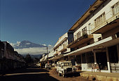 Arusha town with Mt. Meru in the background, Tanzania
