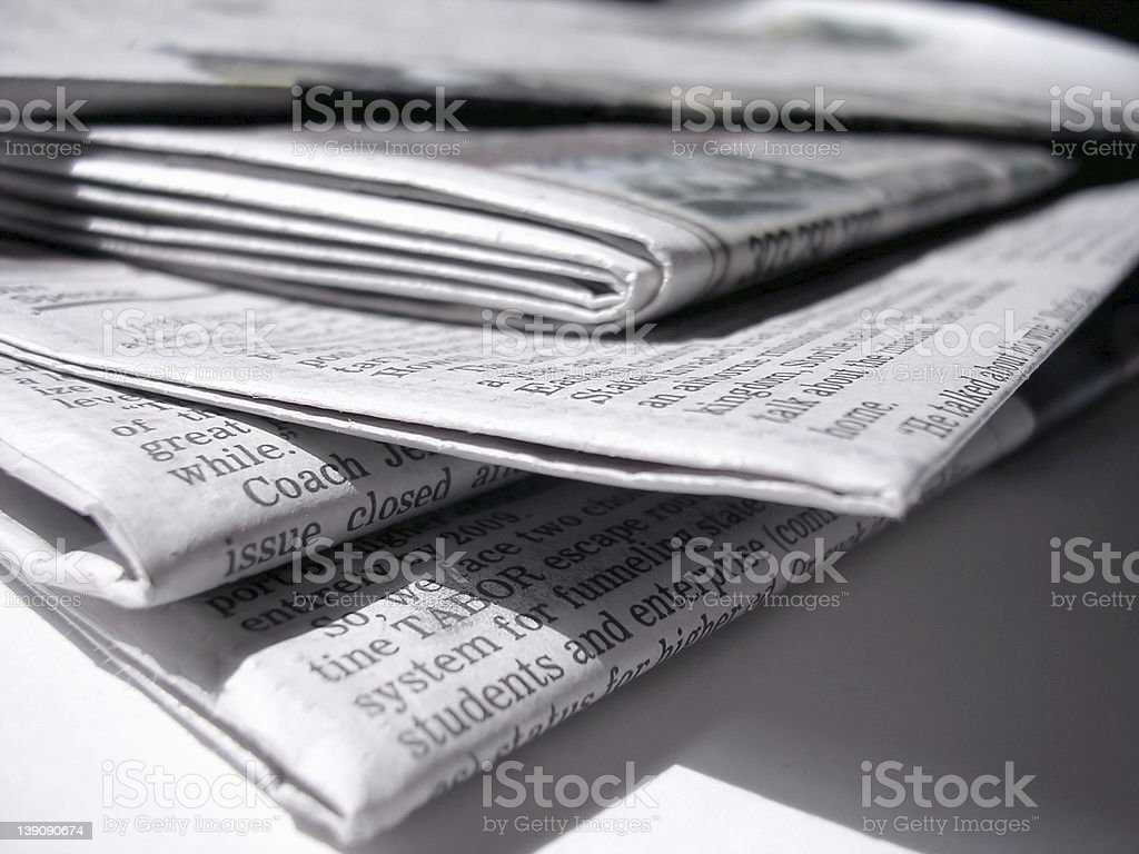 Arvada Paper royalty-free stock photo