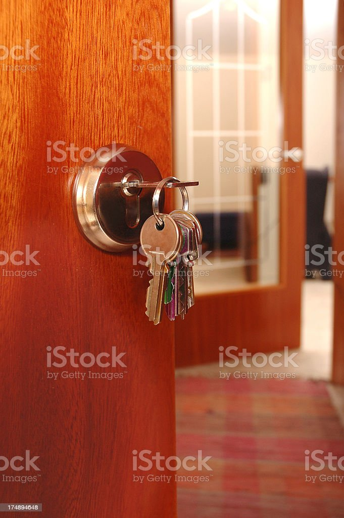 Come in royalty-free stock photo