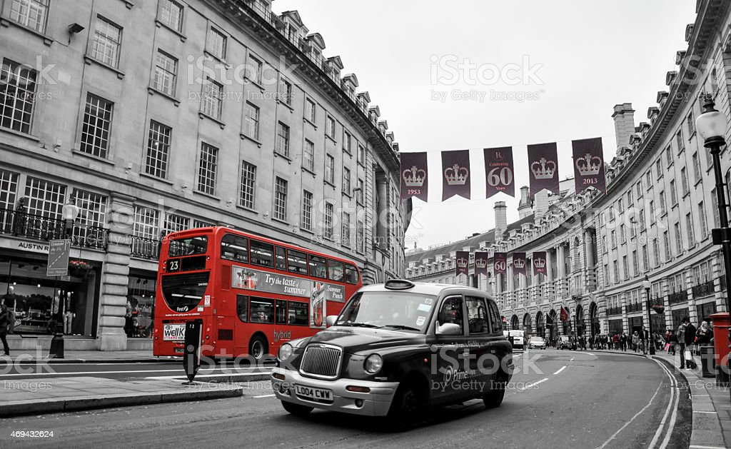 As London as it gets stock photo