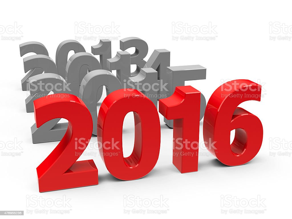 2016 come stock photo