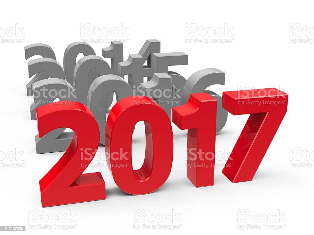 2017 come stock photo