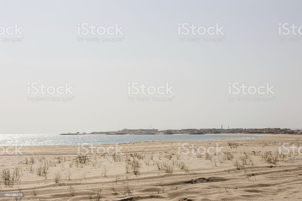 As Siwayh bay stock photo