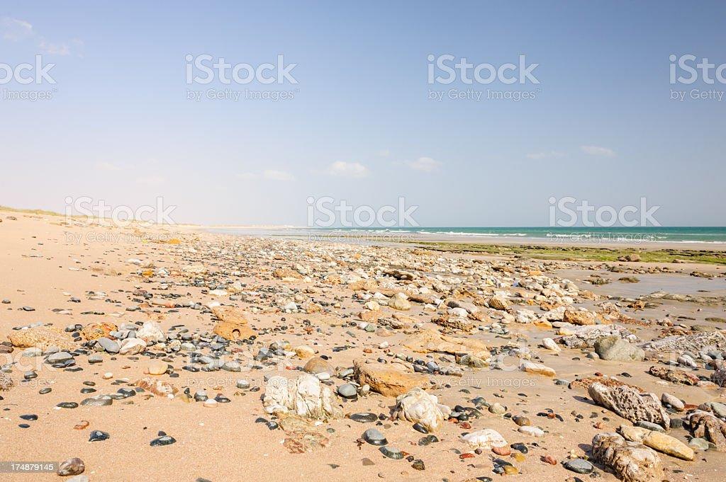 As Siwayh beach stock photo