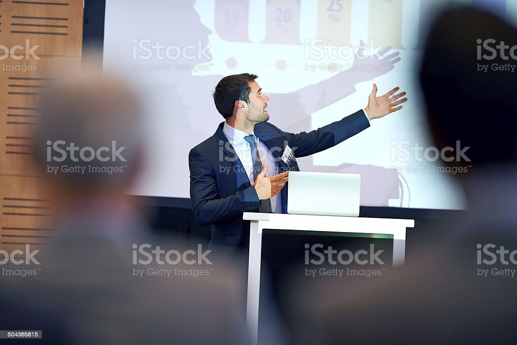 As you can see here... stock photo