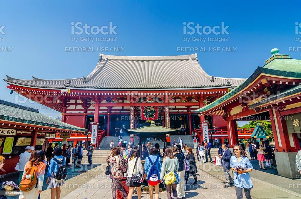 Asakusa Kannon temple - Tokyo ,Japan stock photo