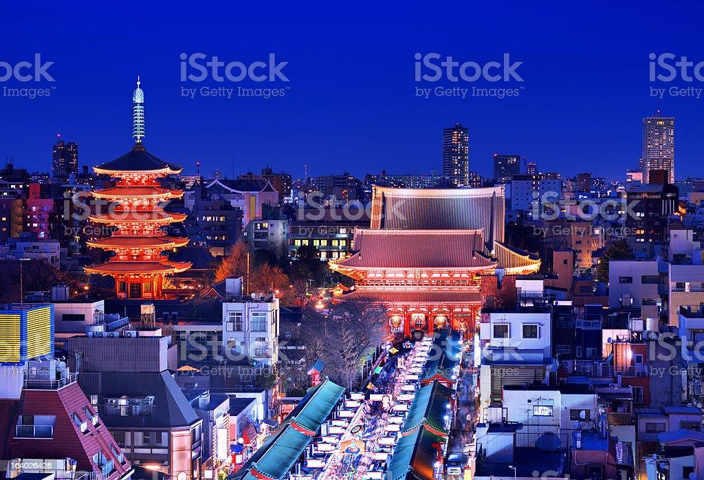 Asakusa Tokyo stock photo