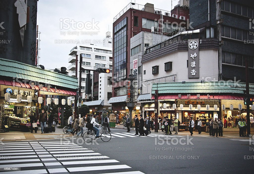 Asakusa, Tokyo royalty-free stock photo