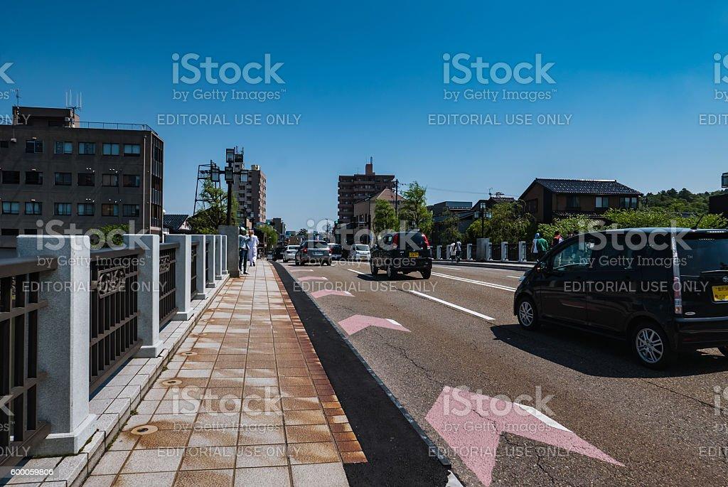 Asanogawa Ohashi Bridge stock photo