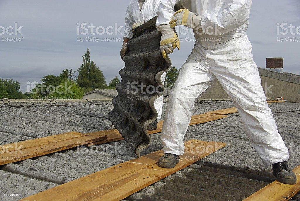 asbestos royalty-free stock photo