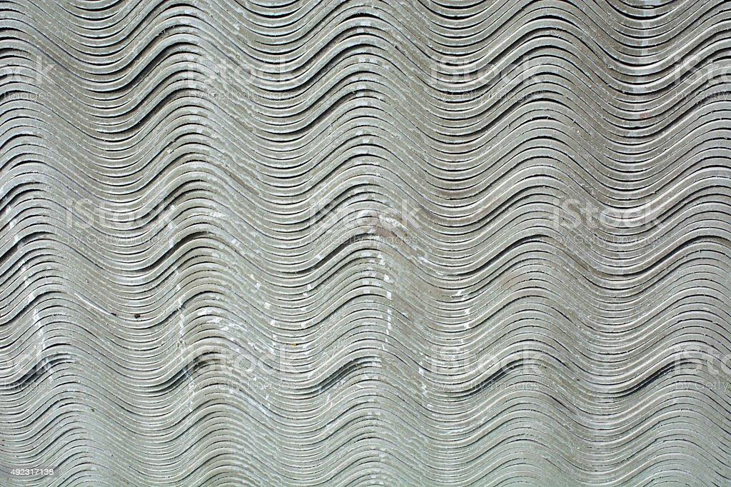 Asbestos tile stock photo