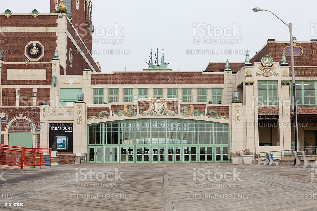 Asbury Park Convention Hall stock photo