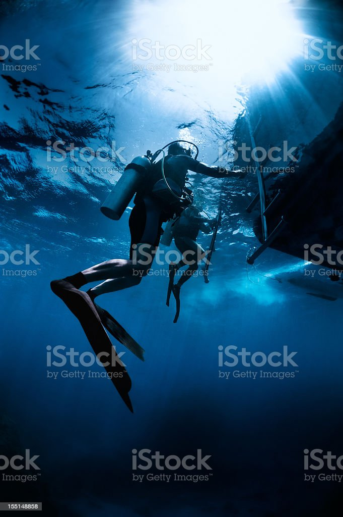 Ascending stock photo