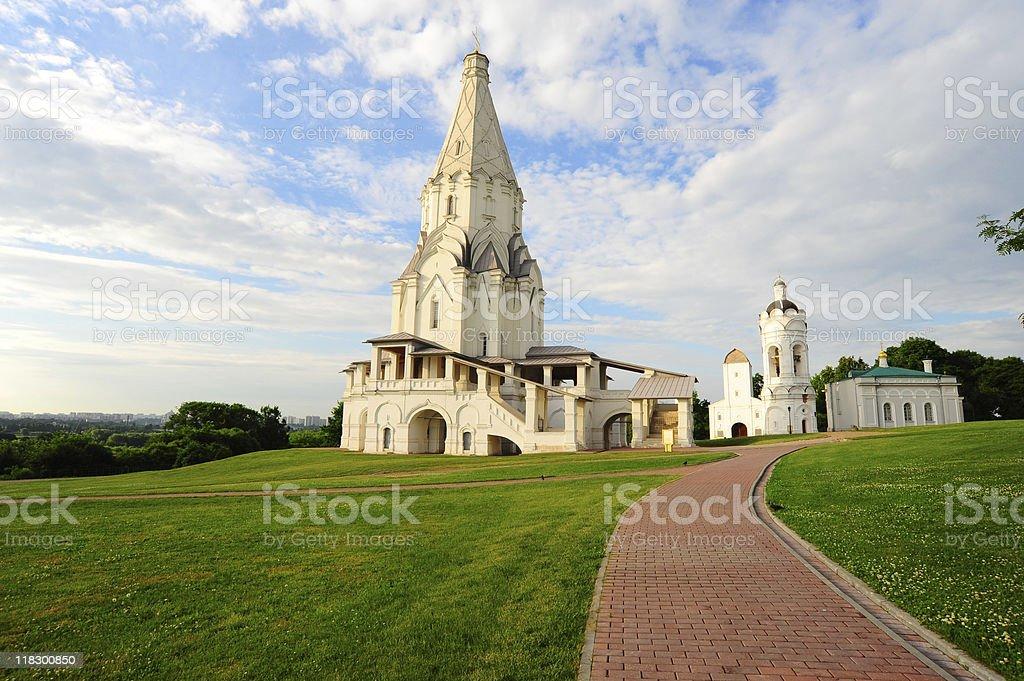 Ascension Church stock photo