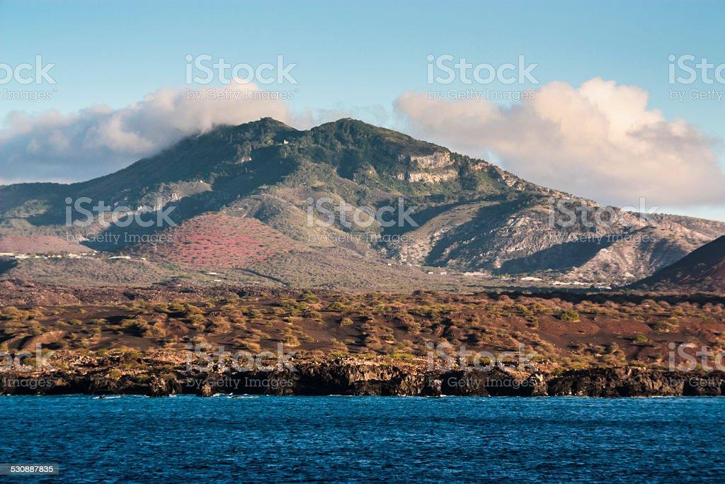 Ascension Island Coastline stock photo