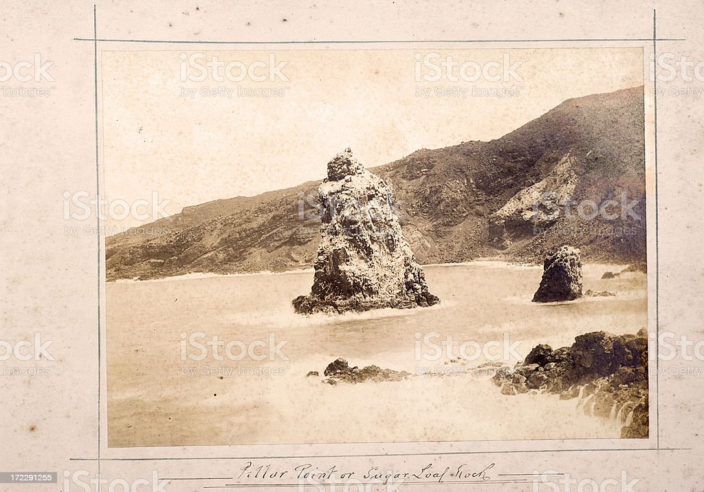 Ascension Island stock photo