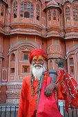 Ascetic in Jaipur