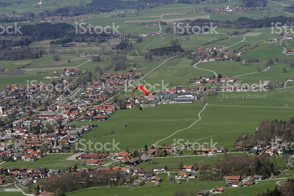 Aschau Chiemgau Upper Bavaria Germany stock photo
