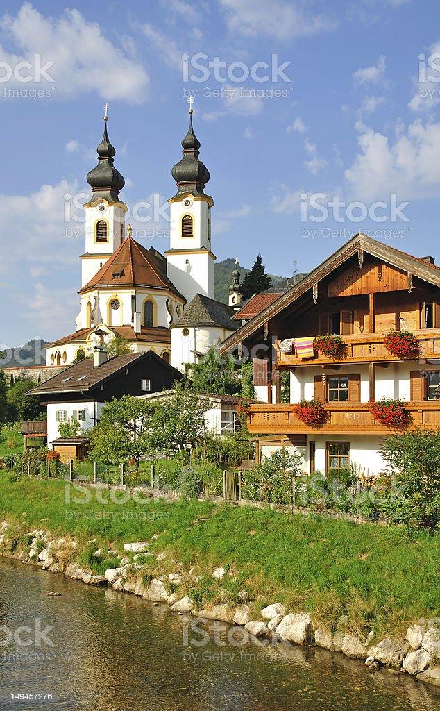 Aschau,Chiemgau,Upper Bavaria,Germany royalty-free stock photo