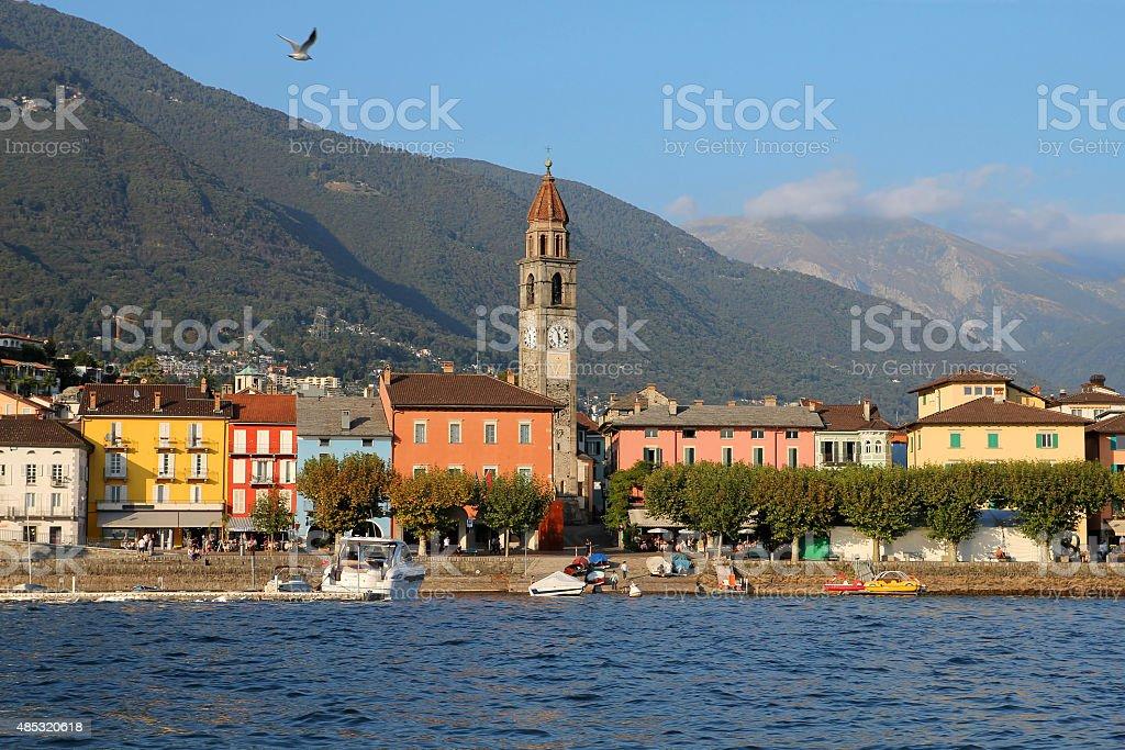 Ascona, Switzerland stock photo