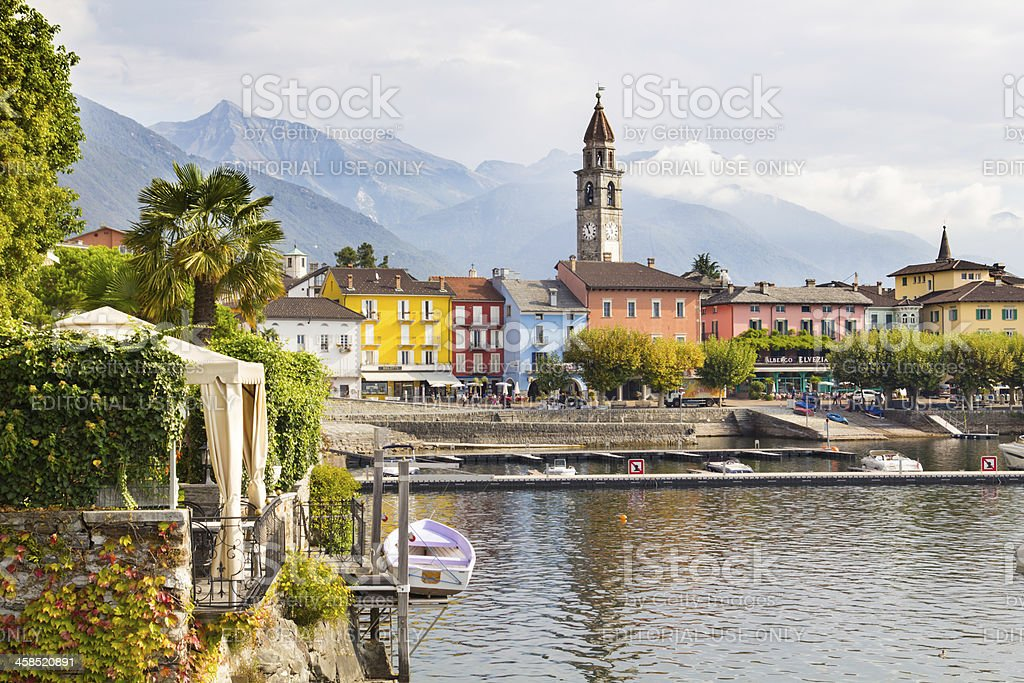 Ascona, Ticino, Switzerland stock photo